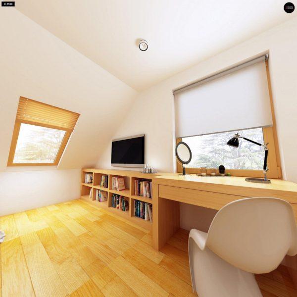 Фото 11 - Z34 - Практичный дом для небольшого участка, простой в строительстве, дешевый в эксплуатации.