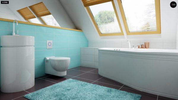 Фото 14 - Z34 - Практичный дом для небольшого участка, простой в строительстве, дешевый в эксплуатации.