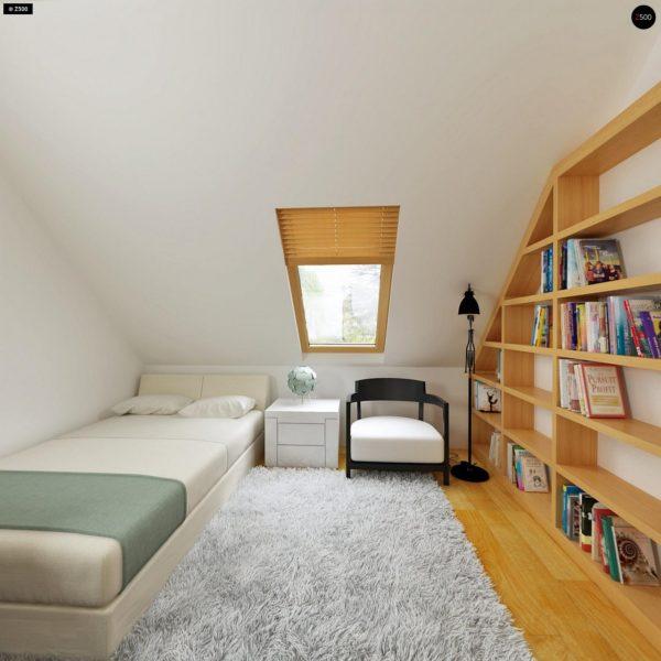 Фото 20 - Z34 - Практичный дом для небольшого участка, простой в строительстве, дешевый в эксплуатации.