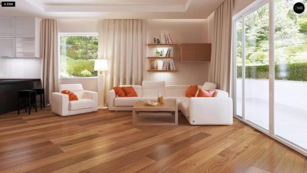 Фото 3 - Z35 bG - Комфортный одноэтажный дом традиционного дизайна.