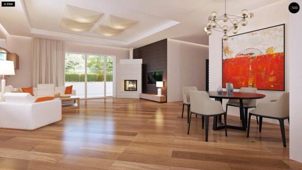 Фото 4 - Z35 bG - Комфортный одноэтажный дом традиционного дизайна.