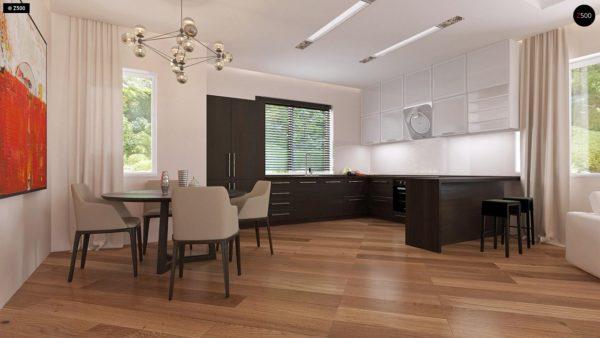 Фото 5 - Z35 bG - Комфортный одноэтажный дом традиционного дизайна.