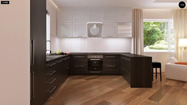 Фото 6 - Z35 bG - Комфортный одноэтажный дом традиционного дизайна.