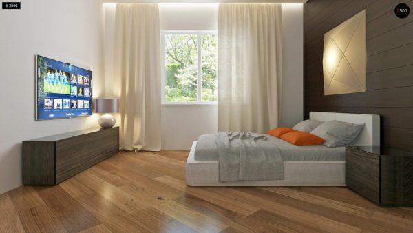 Фото 8 - Z35 bG - Комфортный одноэтажный дом традиционного дизайна.