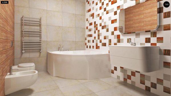 Фото 9 - Z35 bG - Комфортный одноэтажный дом традиционного дизайна.