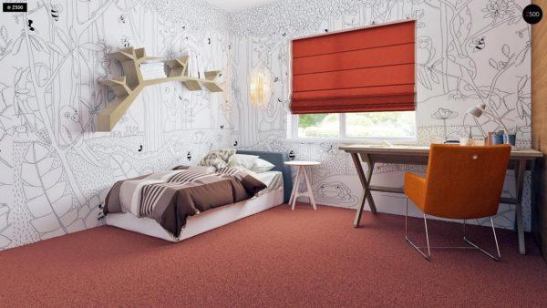 Фото 12 - Z35 bG - Комфортный одноэтажный дом традиционного дизайна.
