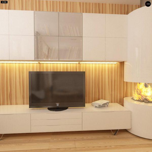 Фото 7 - Z40 - Выгодный и простой в строительстве дом с эркером в дневной зоне.