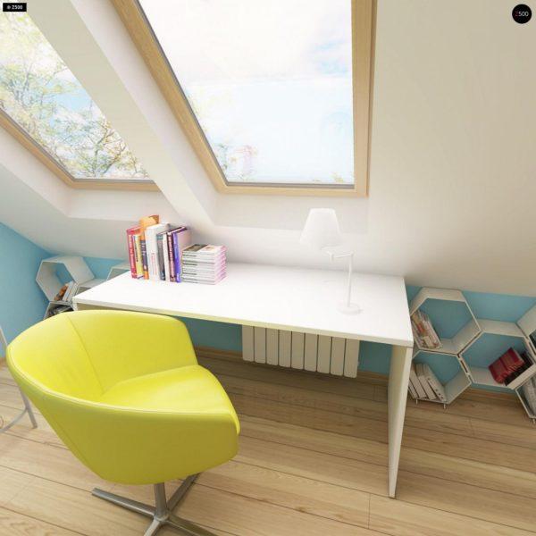 Фото 9 - Z40 - Выгодный и простой в строительстве дом с эркером в дневной зоне.