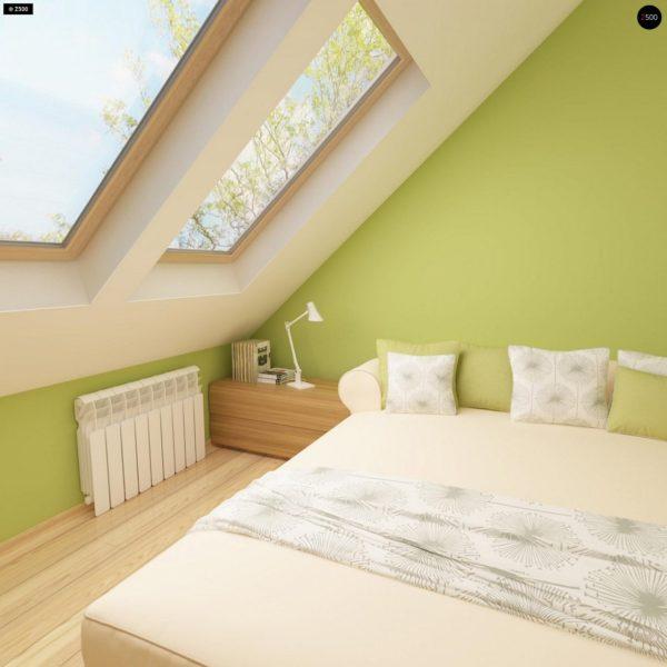 Фото 16 - Z40 - Выгодный и простой в строительстве дом с эркером в дневной зоне.
