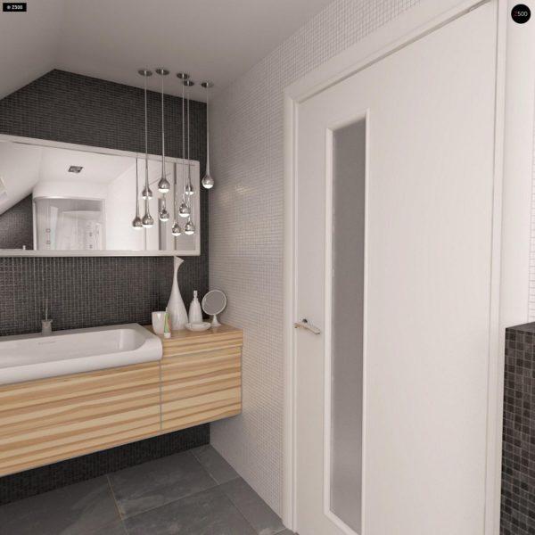 Фото 19 - Z40 - Выгодный и простой в строительстве дом с эркером в дневной зоне.