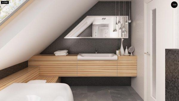 Фото 20 - Z40 - Выгодный и простой в строительстве дом с эркером в дневной зоне.