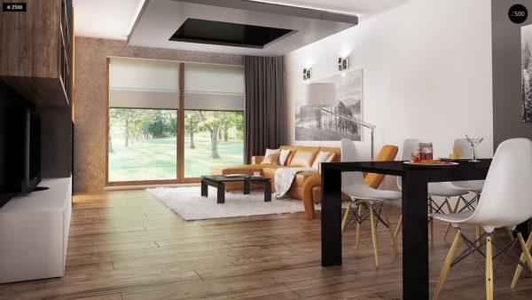 Фото 4 - Z41 - Выгодный небольшой одноэтажный дом с тремя спальнями.