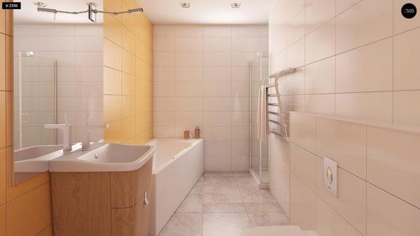 Фото 10 - Z41 - Выгодный небольшой одноэтажный дом с тремя спальнями.
