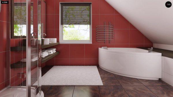 Фото 14 - Z66 - Проект комфортного и выгодного дома.