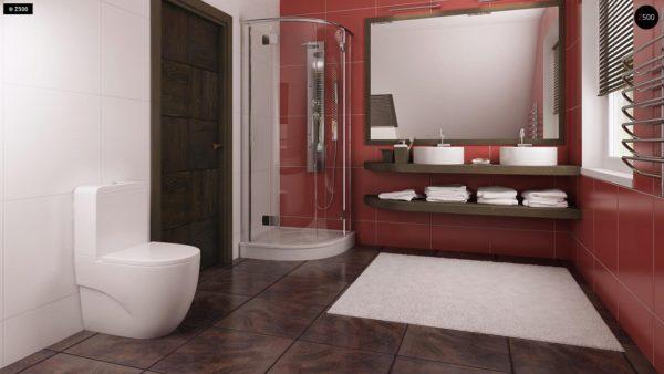 Фото 15 - Z66 - Проект комфортного и выгодного дома.