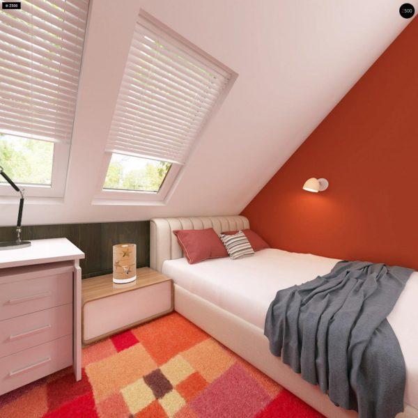 Фото 17 - Z66 - Проект комфортного и выгодного дома.