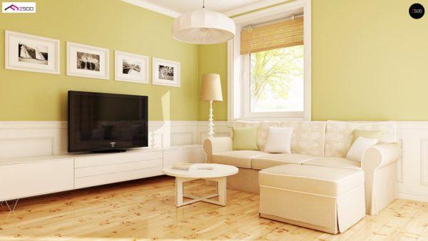 Фото 4 - Z71 - Практичный функциональный дом, недорогой в строительстве и эксплуатации.