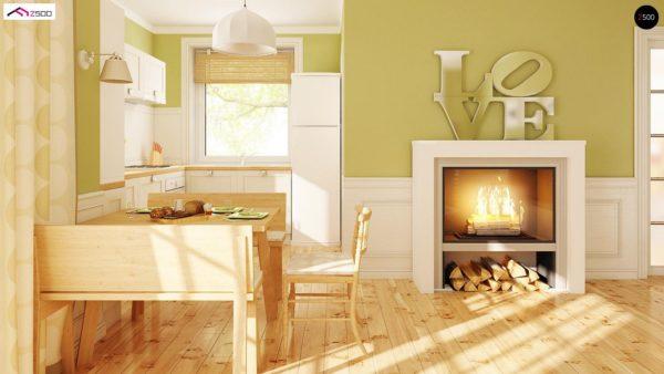Фото 5 - Z71 - Практичный функциональный дом, недорогой в строительстве и эксплуатации.