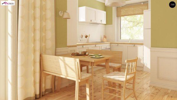 Фото 6 - Z71 - Практичный функциональный дом, недорогой в строительстве и эксплуатации.