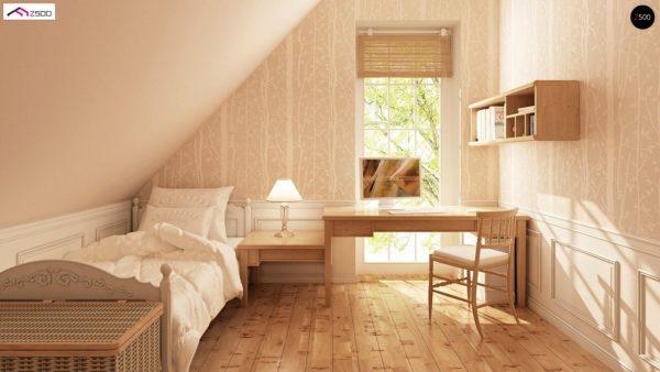 Фото 7 - Z71 - Практичный функциональный дом, недорогой в строительстве и эксплуатации.