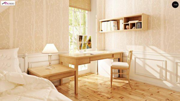 Фото 8 - Z71 - Практичный функциональный дом, недорогой в строительстве и эксплуатации.