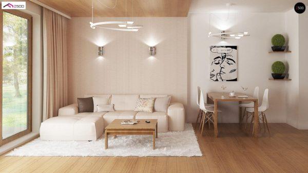 Фото 3 - Z8 - Выгодный и простой в строительстве дом полезной площадью 100 м2.