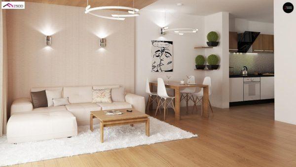 Фото 4 - Z8 - Выгодный и простой в строительстве дом полезной площадью 100 м2.