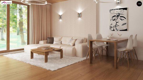 Фото 5 - Z8 - Выгодный и простой в строительстве дом полезной площадью 100 м2.