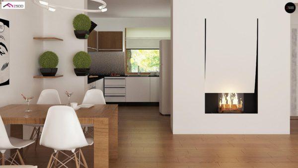 Фото 6 - Z8 - Выгодный и простой в строительстве дом полезной площадью 100 м2.
