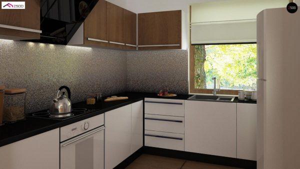 Фото 7 - Z8 - Выгодный и простой в строительстве дом полезной площадью 100 м2.