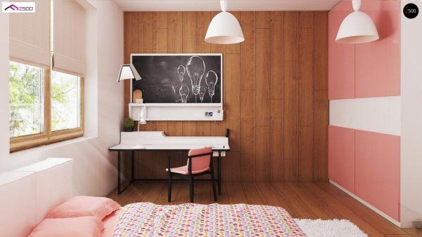 Фото 8 - Z8 - Выгодный и простой в строительстве дом полезной площадью 100 м2.