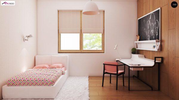 Фото 9 - Z8 - Выгодный и простой в строительстве дом полезной площадью 100 м2.