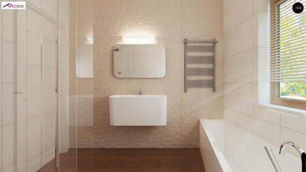 Фото 10 - Z8 - Выгодный и простой в строительстве дом полезной площадью 100 м2.
