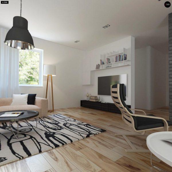 Фото 5 - Z89 - Традиционный дом с современными элементами архитектуры.