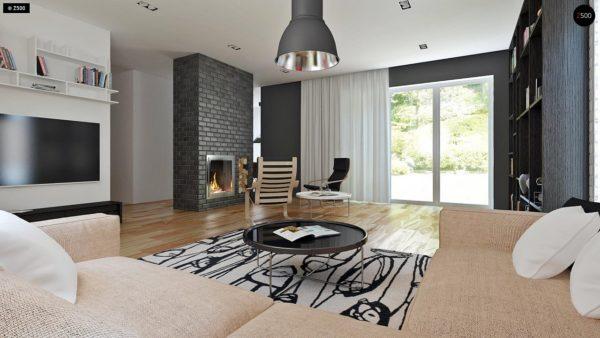 Фото 3 - Z89 - Традиционный дом с современными элементами архитектуры.