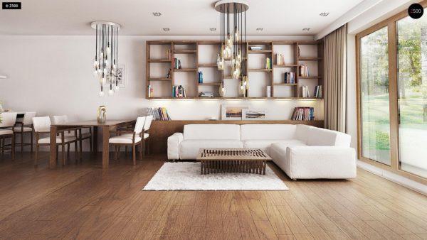 Фото 3 - Z94 - Практичный одноэтажный дом с большим гаражом, просторной гостиной и двумя спальнями.