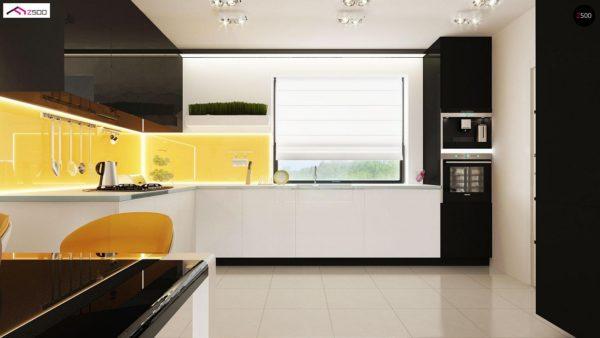 Фото 8 - Z98 - Проект выгодного одноэтажного дома с возможностью адаптации чердачного помещения.