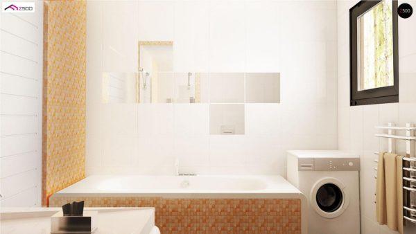 Фото 11 - Z98 - Проект выгодного одноэтажного дома с возможностью адаптации чердачного помещения.