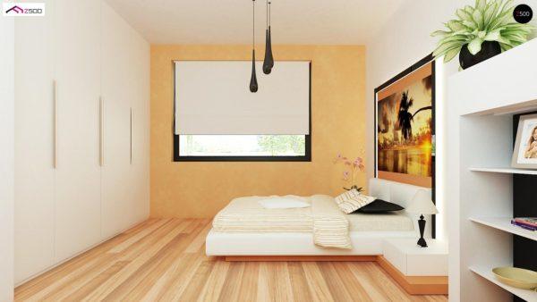 Фото 13 - Z98 - Проект выгодного одноэтажного дома с возможностью адаптации чердачного помещения.