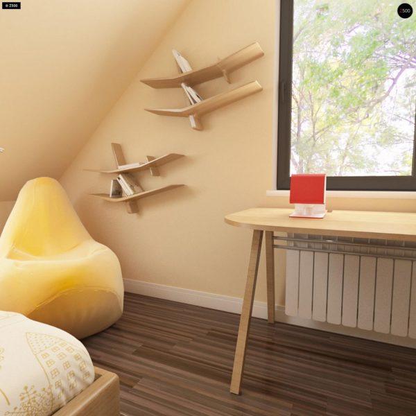 Фото 10 - Z99 - Уютный традиционный дом с эркером и кухней, расположенными на южной стороне, а также с дополнительной спальней на первом этаже.