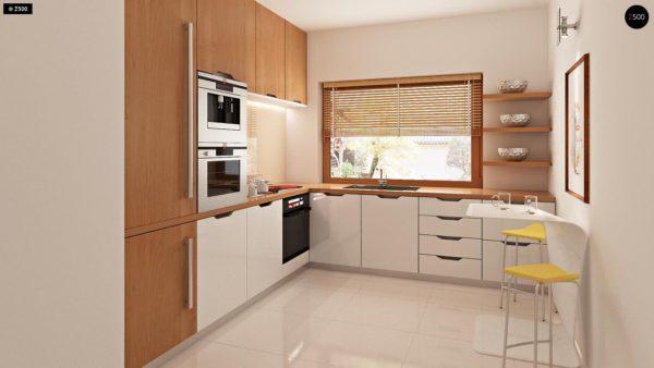 Фото 7 - Zb4 - Проект стильного, функционального и недорогого двухсемейного дома.