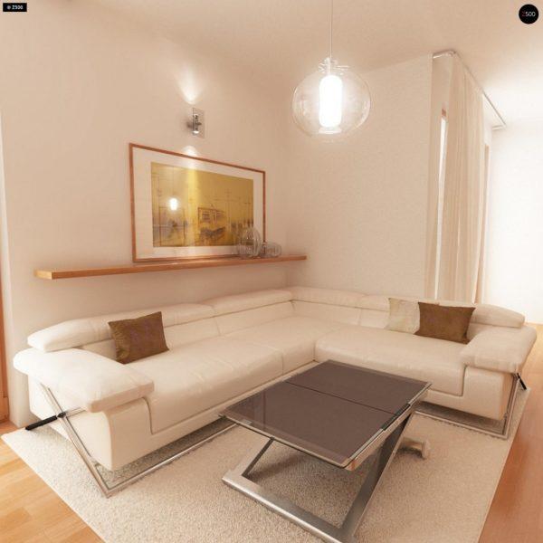 Фото 8 - Zb4 - Проект стильного, функционального и недорогого двухсемейного дома.