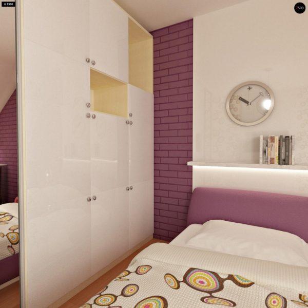 Фото 11 - Zb4 - Проект стильного, функционального и недорогого двухсемейного дома.