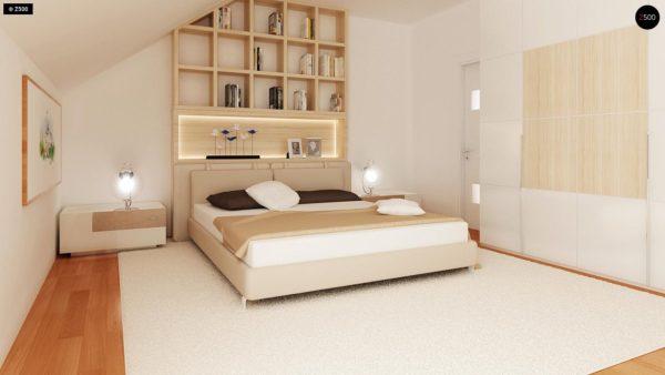 Фото 14 - Zb4 - Проект стильного, функционального и недорогого двухсемейного дома.