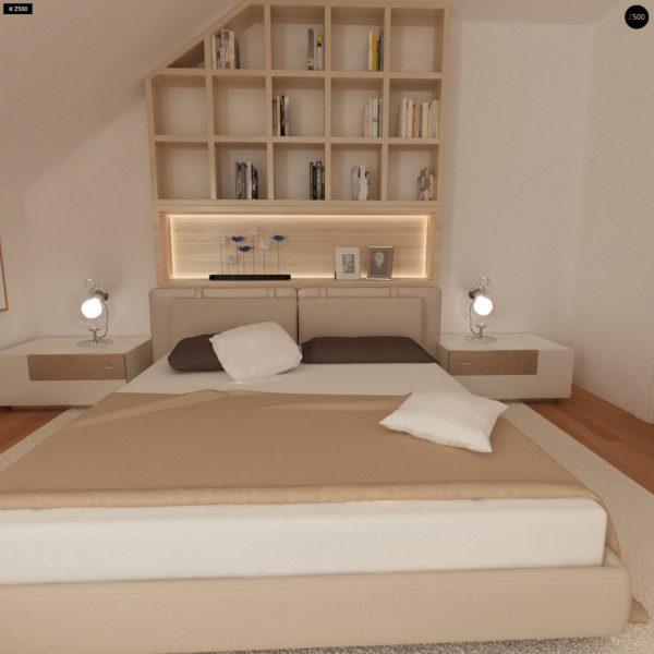 Фото 16 - Zb4 - Проект стильного, функционального и недорогого двухсемейного дома.