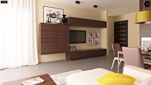 Фото 5 - Zb7 - Компактные дома близнецы в современном стиле с уютным интерьером.