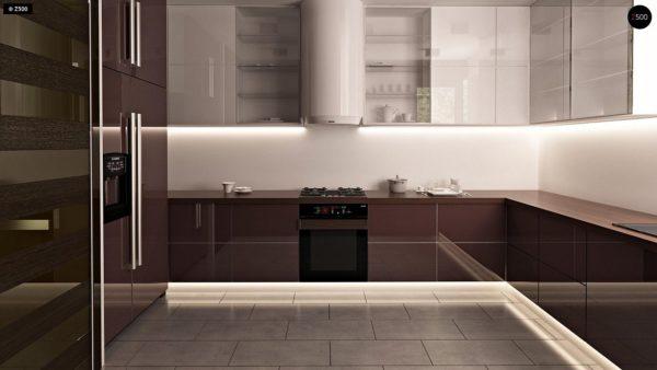 Фото 6 - Zb7 - Компактные дома близнецы в современном стиле с уютным интерьером.