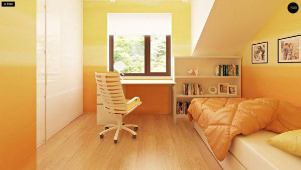 Фото 7 - Zb7 - Компактные дома близнецы в современном стиле с уютным интерьером.