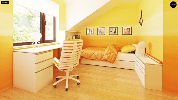 Фото 8 - Zb7 - Компактные дома близнецы в современном стиле с уютным интерьером.