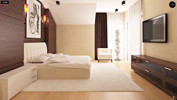 Фото 10 - Zb7 - Компактные дома близнецы в современном стиле с уютным интерьером.